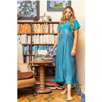 Suzie Sari Silk Smock Dress