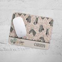Personalised Zebra Mouse Mat