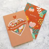 Motherhood Notebook Gift Set Two Pack