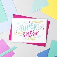 'Super Sister' Card