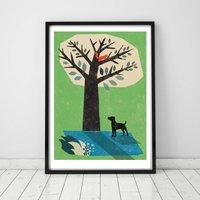 Jack Russell Dog Print