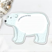 Personalised Polar Bear Notecards