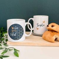 Personalised 'Bee You Tiful' Mug