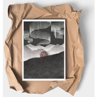 The Cabin Illustrated Art Print