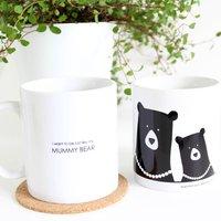 I Want To Be Just Like My Mummy Bear Mug