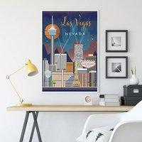 Las Vegas, Nevada, Cityscape Art Print