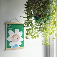 Flower Alphabet Print