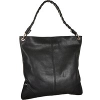 Hobo Leather Shoulder Bag, Brown