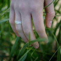 Ethical Silver Ring, Silver