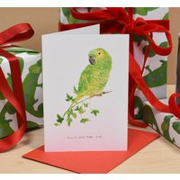 Polly And The Ivy Christmas Card
