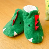Dinosaur Baby Shoes And Toddler Slippers