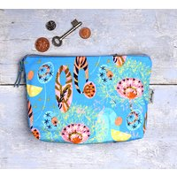 Alium Azure Make Up Bag