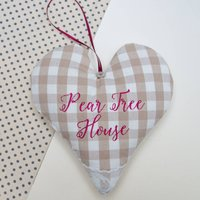 House Name Heart Natural