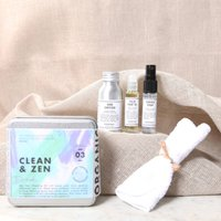 Personalised Clean And Zen Desk Kit