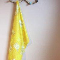 Tuk Tuk Print Tea Towel