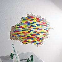 Building Blocks Wall Sticker
