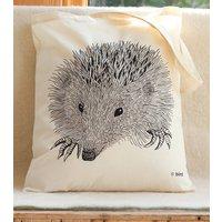 Hedgehog Print Tote Bag
