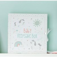 First Year Baby Keepsake Box