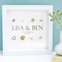 Personalised Wedding Names Gift