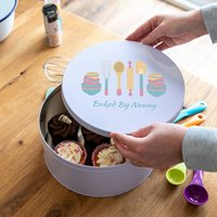 Personalised Baking Utensils Cake Tin