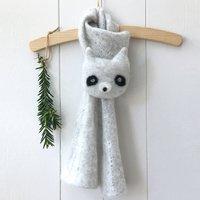 Pure Cashmere Children's Raccoon Scarf