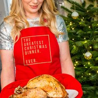 The Greatest Christmas Dinner Ever Apron