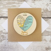 Personalised 'Best Mum In The World' Keepsake Cards