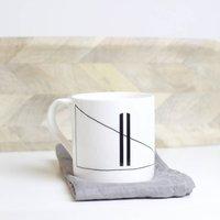 Symbol Elements Bone China Mug