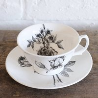 Fine Bone China Tea Cup And Saucer Set Giftboxed