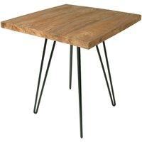 Teak Bistro Small Square Kitchen Table