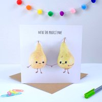 We're The Perfect Pair Greeting Card
