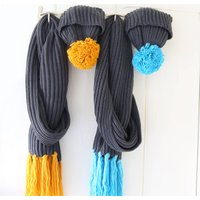 Chunky Knit Scarf And Hat Set