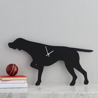 Pointer Clock With Wagging Tail
