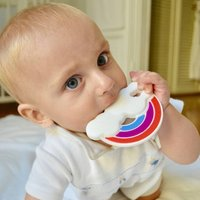 'Rainbow' Baby Teether