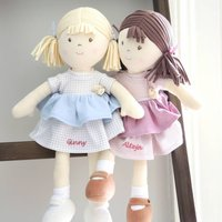 Babies Personalised Cotton Rag Doll