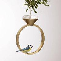 Diamond Ring Bird Feeder