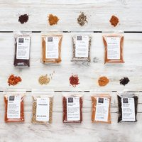 Nine African And Middle Eastern Spice Collection