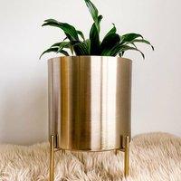 Olivia Handmade Gold Plant Pot