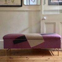 Bespoke Fabric Covered Storage Bench