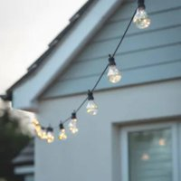 Solar Powered 20 Bulb Festoon Lights