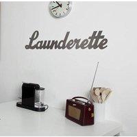 'Launderette' Metal Sign