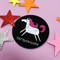 Tattoonicorn Viynl Sticker