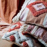 Earthy Tones Cotton Cushion