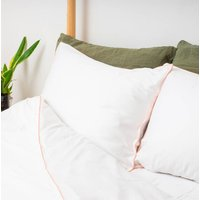 Peach Bamboo Bed Linen Set