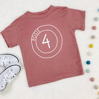 Personalised Birthday T Shirt