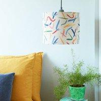 A Handmade 'Pintura' Lamp Shade
