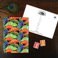 Camouflage Of Chameleons Print Postcard