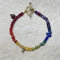 Everything Rainbow Precious Stone Bracelet