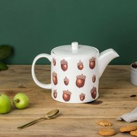 Acorn And Squirrel Teapot