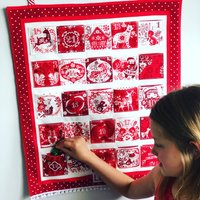 Traditional Handmade Personalised Advent Calendar